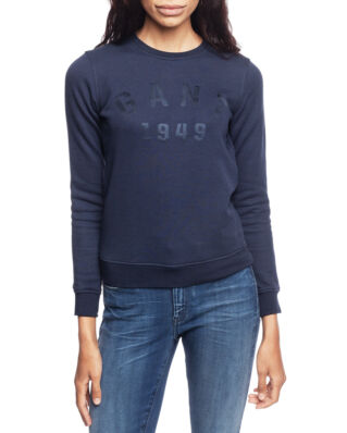 Gant OP2. Gant 1949 C-Neck Sweat Marine