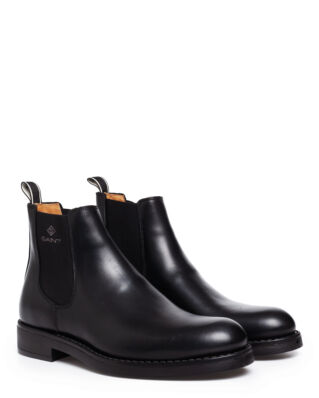 Gant Oscar Chelsea Leather Black