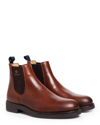 Gant Oscar Chelsea Leather Cognac