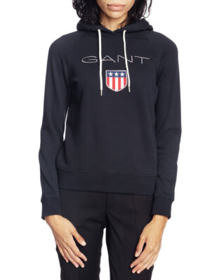 Gant Shield Sweat Hoodie Black