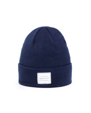 Gant Solid Logo Hat Marine
