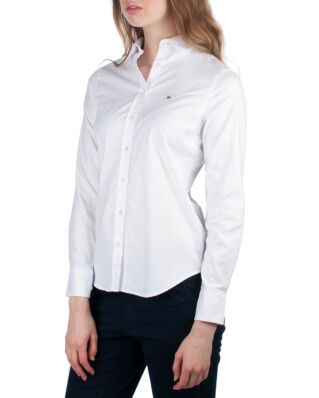 Gant Stretch Oxford Solid Shirt White