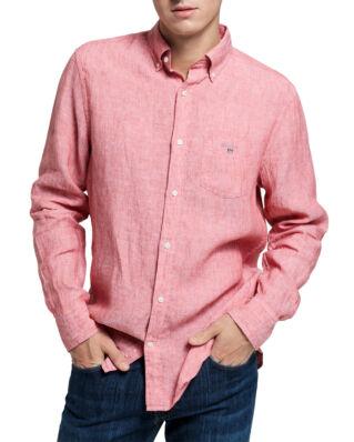 Gant The Linen Shirt Reg BD Mineral Red