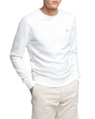 Gant The Original C-Neck Sweat Eggshell