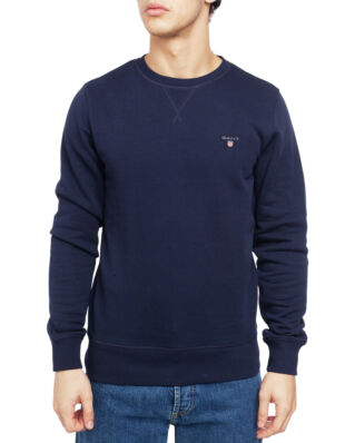 Gant The Original C-Neck Sweat Evening Blue