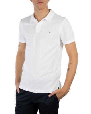 Gant The Original Slim Pique S/S Rugger White