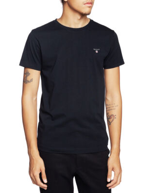 Gant The Original Fitted T-shirt Black