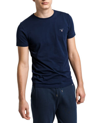 Gant The Original Slim T-Shirt Evening Blue