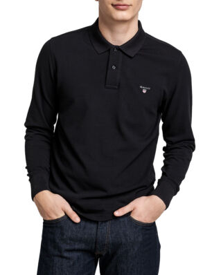 Gant The Original Pique Ls Rugger Black