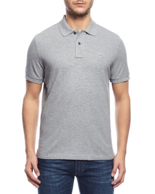 Gant The original pique SS rugger grey melange