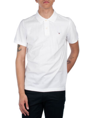 Gant The Original Pique SS Rugger White