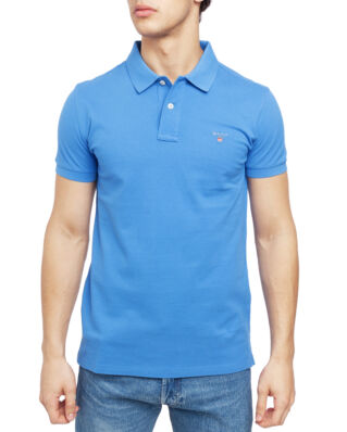 Gant The Original Slim Pique Ss Rugger Palace Blue