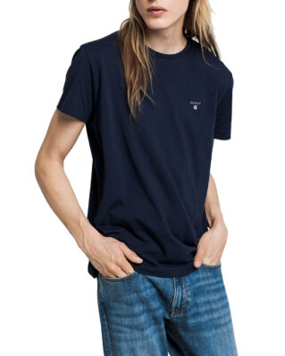 Gant The Original SS T-Shirt Evening Blue