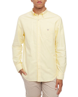 Gant The Regular Oxford Shirt BD Lemon Zest