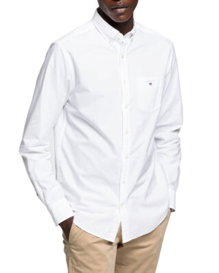 Gant The Regular Oxford Shirt BD White