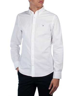 Gant The Slim Oxford Shirt BD White