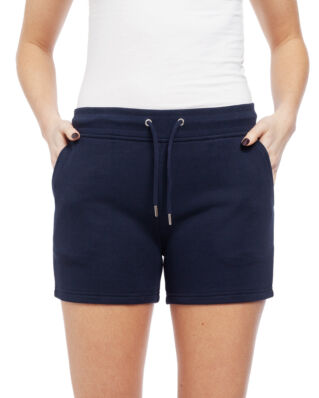 Gant Tonal Shield Sweat Shorts Evening Blue