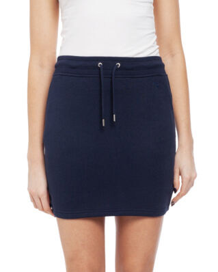 Gant Tonal Shield Sweat Skirt Evening Blue