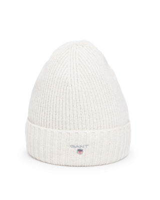 Gant Wool Lined Beanie Cream