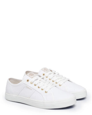 Gant Zoee Low Lace Shoes  Bright White