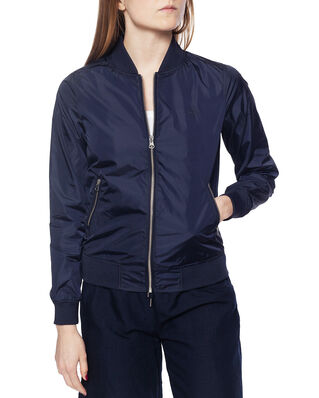 Gant Airy Nylon Bomber Jacket Evening Blue