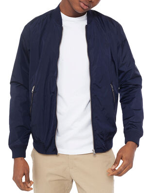 Gant D1. Airy Nylon Bomber Evening Blue