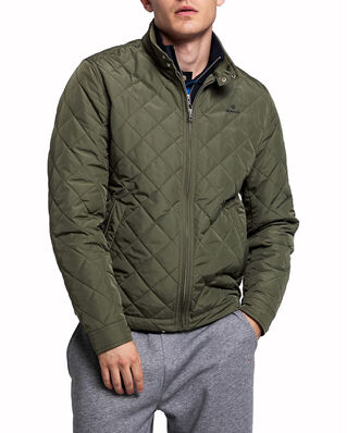Gant D1. The Quilted Windcheater Four Leaf Clover