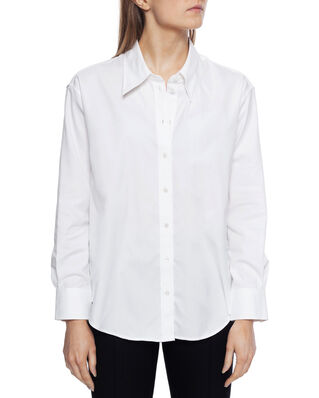 Gant D2. Oversized Collar Relaxed Shirt White