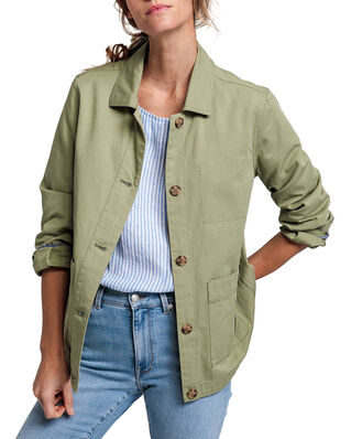 Gant D2. Shirt Jacket Oil Green