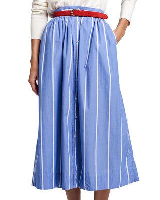 Gant D2. Striped Shirt Skirt Periwinkle Blue