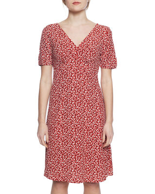 Gant D2. Summer Floral Dress Iron Red