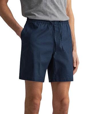 Gant Drawstring Logo Shorts Marine