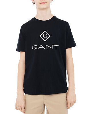 Gant Gant Lock-up SS t-shirt Black