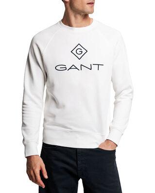 Gant Gant Lock Up C-Neck Sweat Eggshell