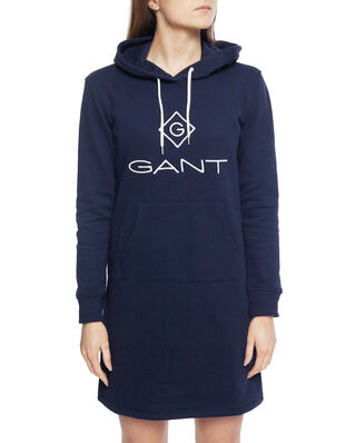 Gant Gant Lock Up Hoodie Dress Evening Blue