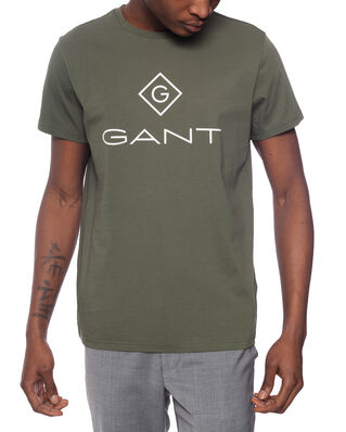 Gant Gant Lock Up Ss T - Shirt Four Leaf Clover