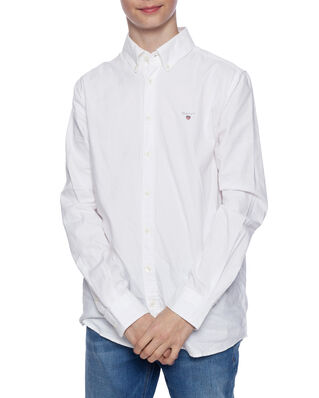 Gant Junior Archive Oxford B.D Shirt White