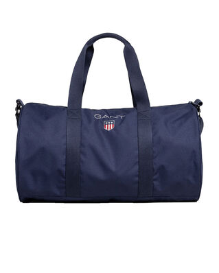 Gant D1. Medium Shield Gym Bag Evening Blue