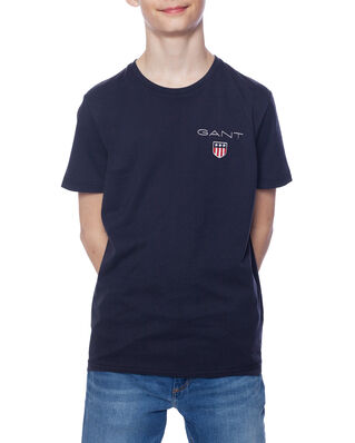 Gant Junior D1. Medium Shield Ss T-Shirt Evening Blue