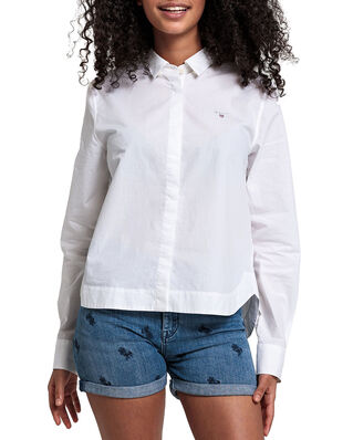 Gant Junior D1. Poplin Shirt White