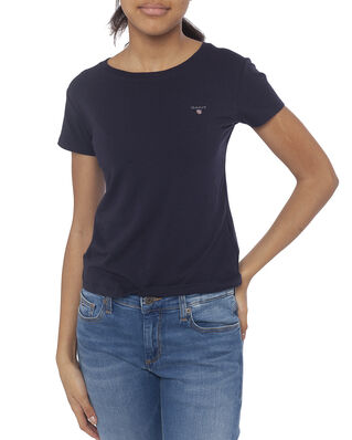 Gant Junior D1. The Original Fitted Ss T-Shirt Evening Blue