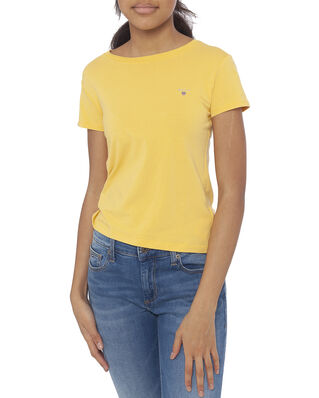 Gant Junior D1. The Original Fitted Ss T-Shirt Mimosa Yellow