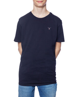 Gant Junior D1. The Original Ss T-Shirt Evening Blue