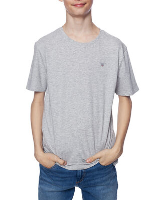 Gant Junior D1. The Original Ss T-Shirt Light Grey Melange