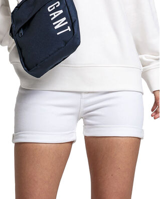 Gant Junior D2. Twill Shorts White