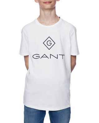 Gant Junior Gant Lock-Up Ss T-Shirt White