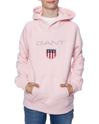 Gant Junior Gant Shield Logo  Sweat Hoodie Royal Pink