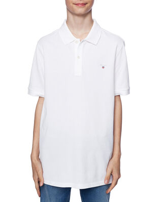 Gant Junior The Original Pique White
