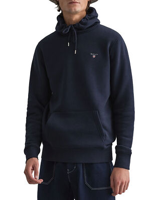 Gant Original Sweat Hoodie Evening Blue