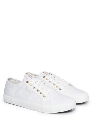 Gant Pinestreet Low laceshoes White